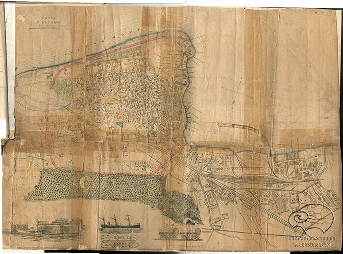 ბათუმის რუკა
