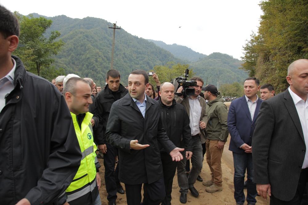 საქართველოს პრემიერ მინისტრმა ბათუმი-ახალციხის საავტომობილო გზის ქედის მონაკვეთი მოინახულა