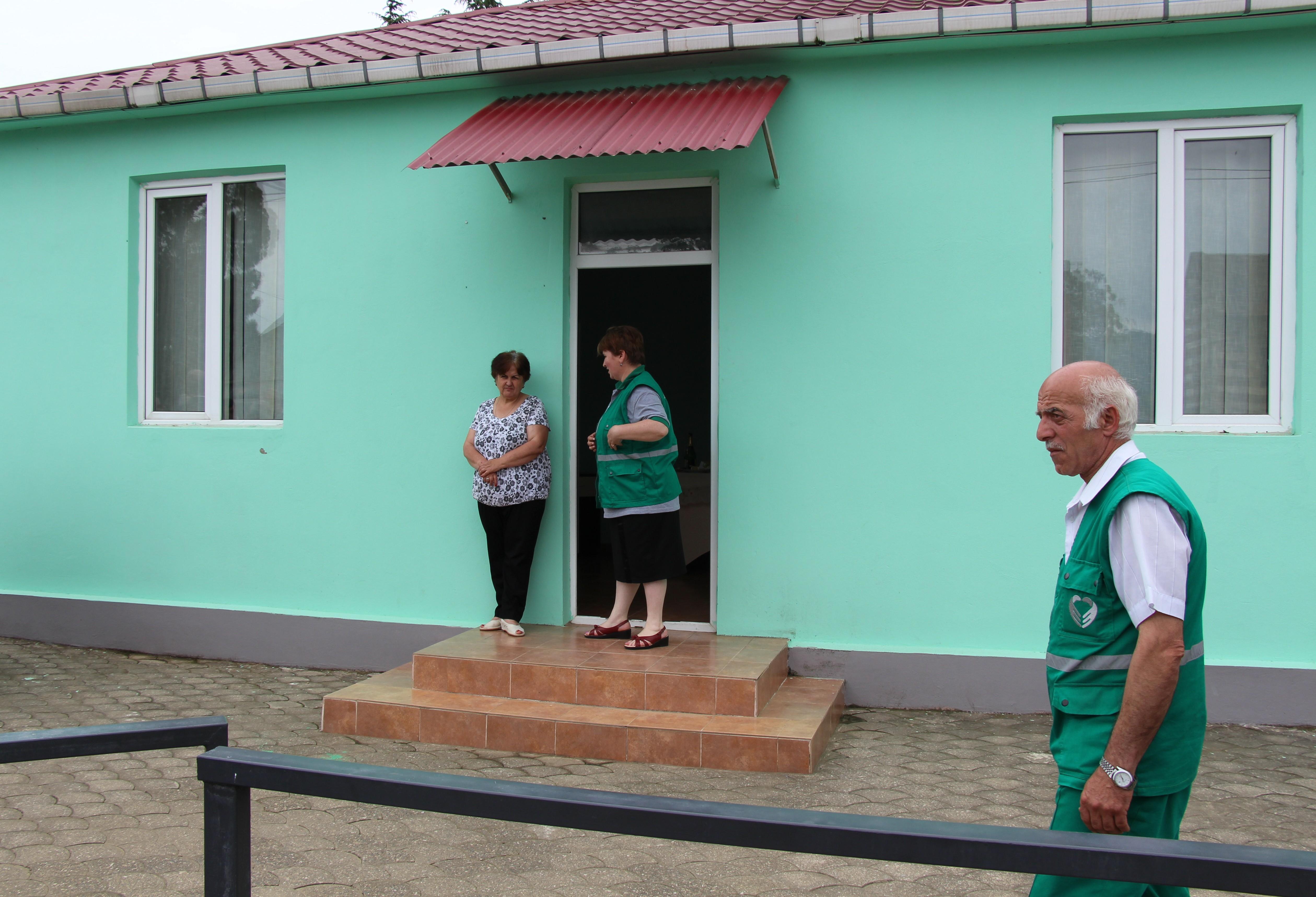 ჩაქვის სასწრაფო სამედიცინო დახმარების ცენტრს ახალი შენობა გადაეცა