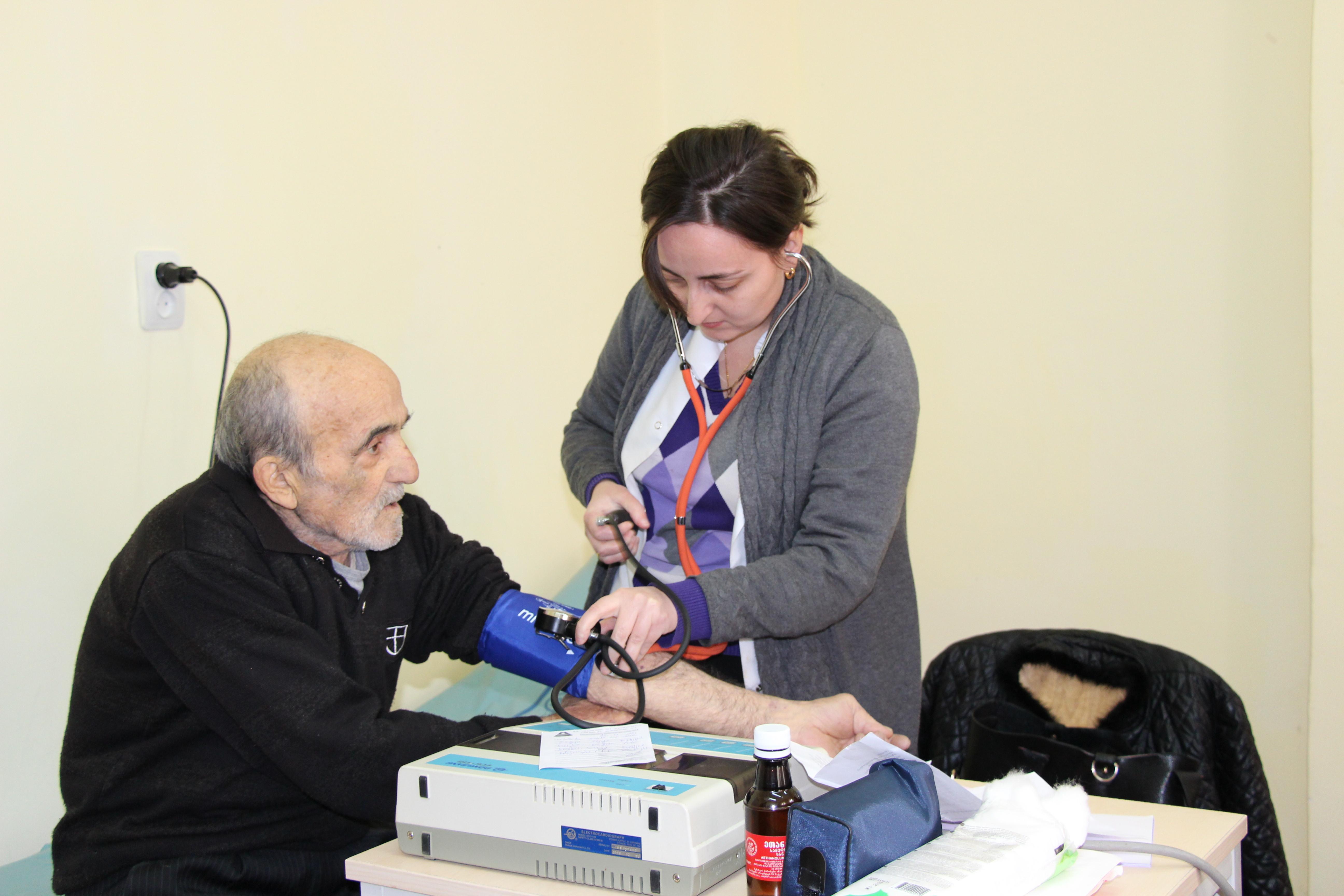 მახუნცეთში სამედიცინო მომსახურებით 211-მა პაციენტმა ისარგებლა