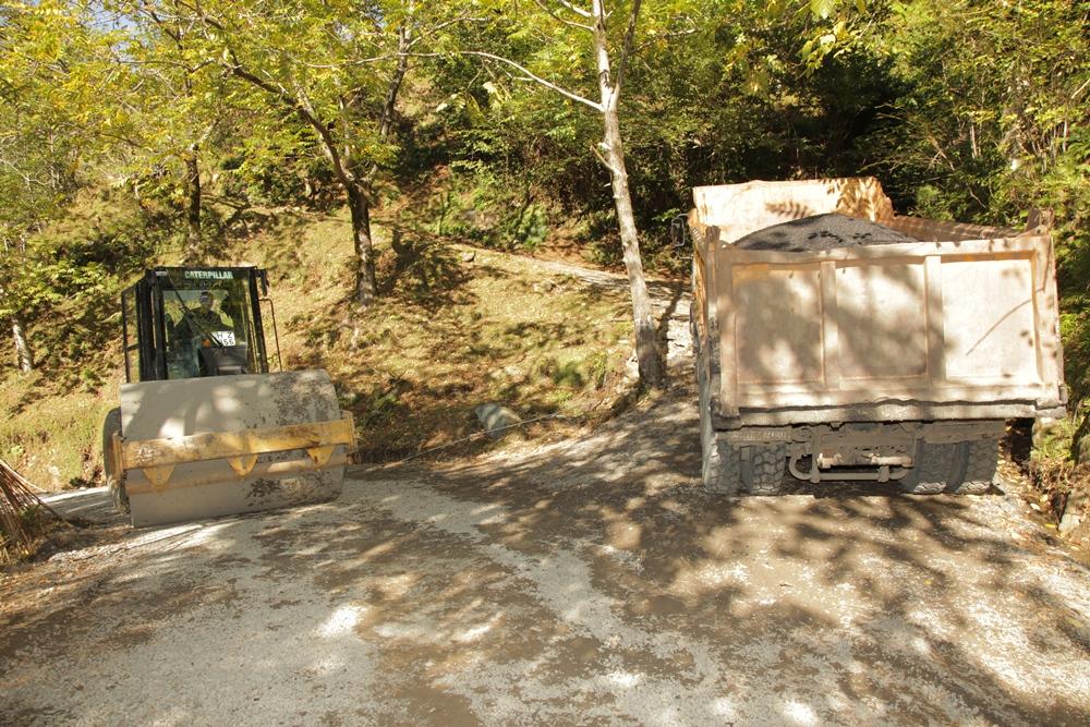 არჩილ ხაბაძემ ჩაქვი-ხალა-ჩაქვისთავის გზის რეაბილიტაციის სამუშაოები მოინახულა