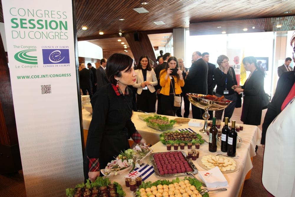 აჭარის რეგიონის პრეზენტაცია ევროპის საბჭოს ადგილობრივ და რეგიონალურ ხელისუფალთა 28-ე კონგრესზე