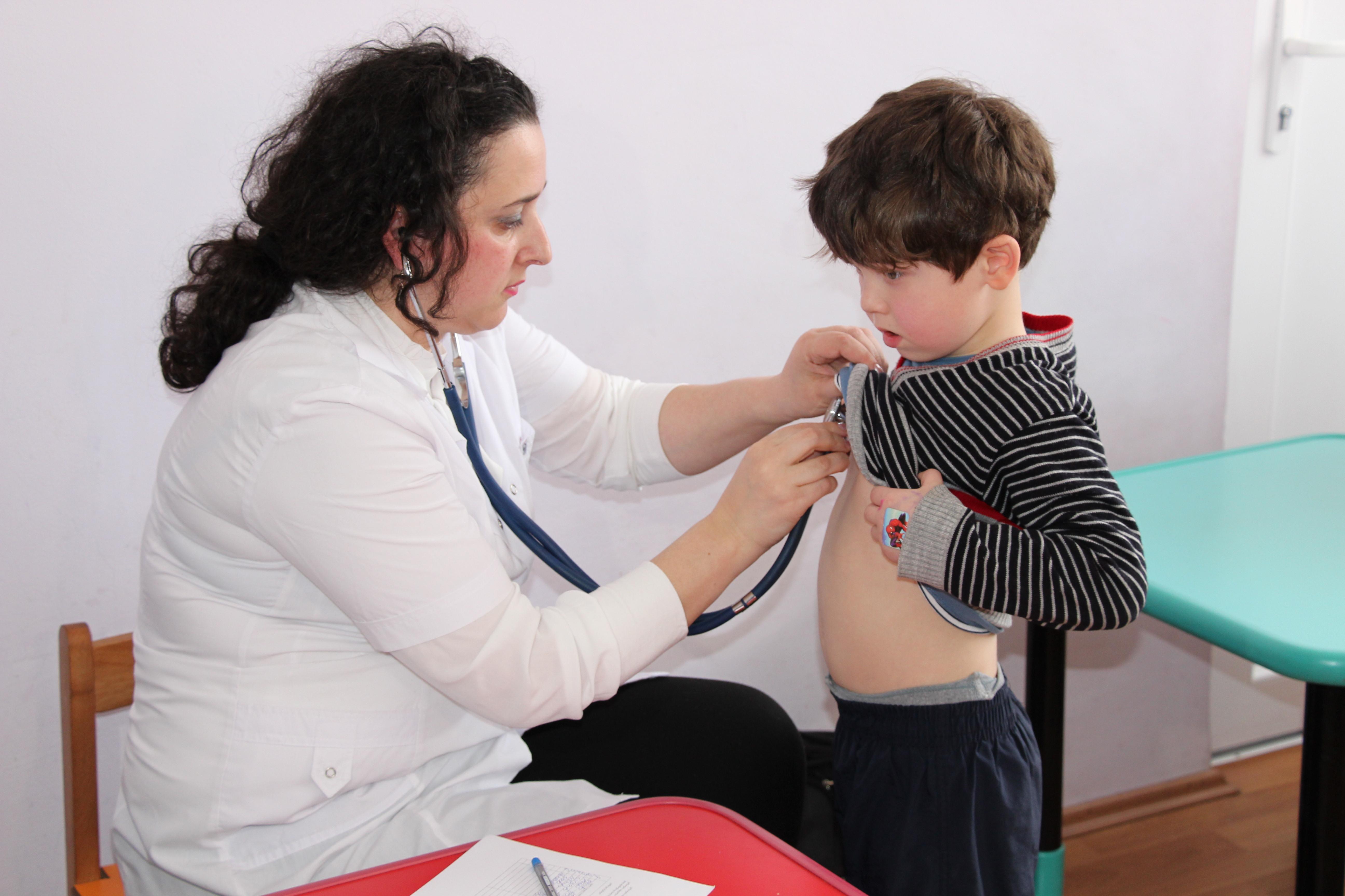 საბავშვო ბაღებში სამედიცინო-პროფილაქტიკური შემოწმებები დაიწყო