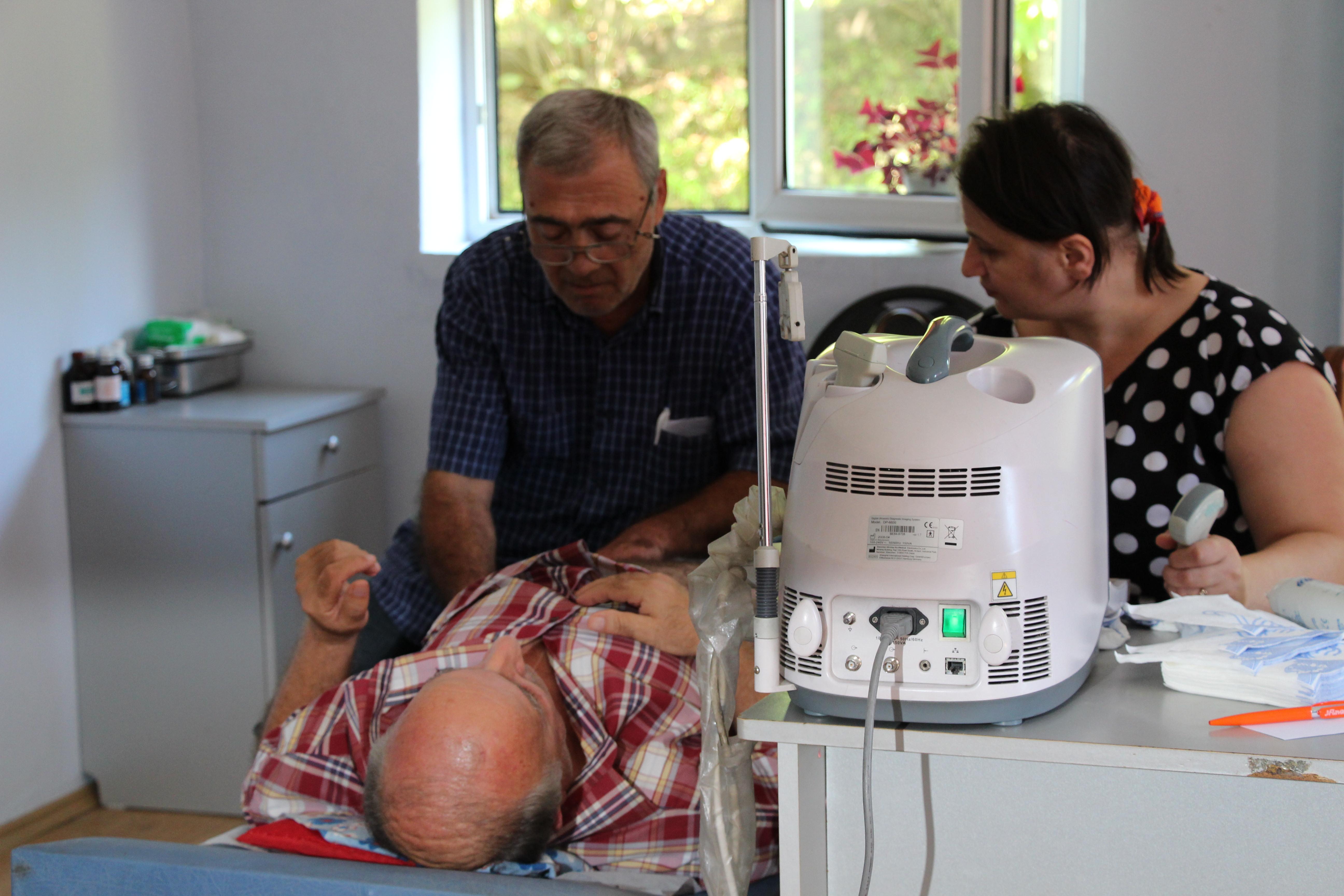 სოფელ ჭახათში უფასო სამედიცინო მომსახურება 300-დე პაციენტს გაეწია