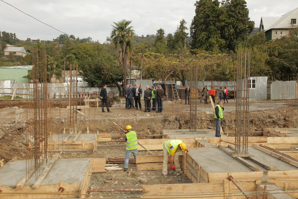 ხელვაჩაურში 2 ახალი სოციალური სახლი აშენდება