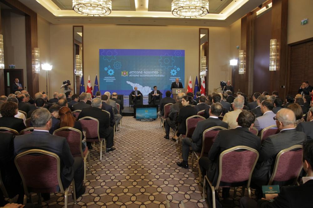 პრემიერ მინისტრი აჭარის ბიზნესმენებს შეხვდა