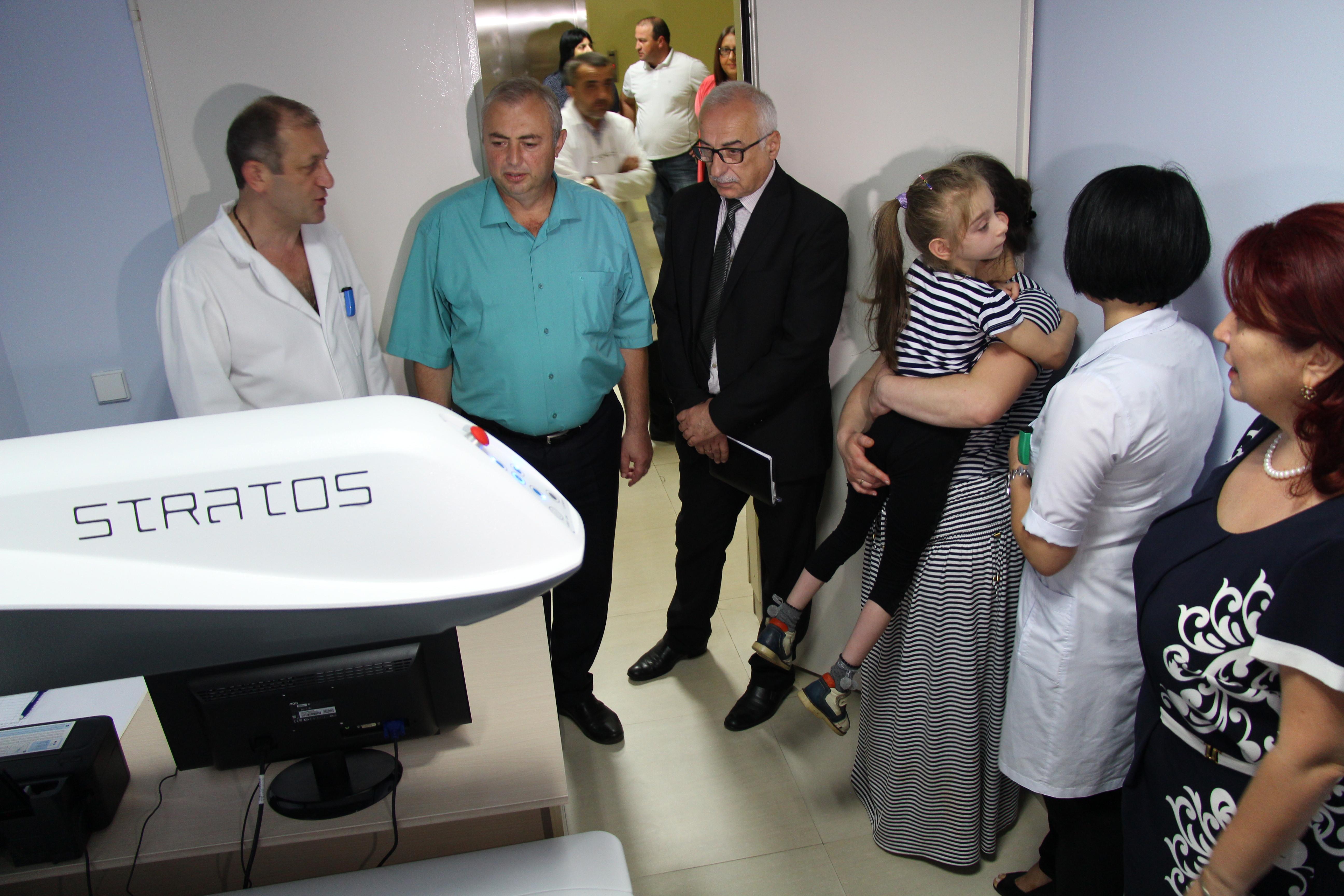 ბათუმის რეფერალურ საავადმყოფოში ახალი სერვისი დაინერგა