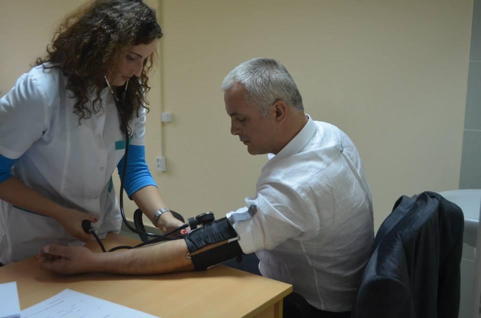 სისხლის აუნგარო დონაციის აქცია