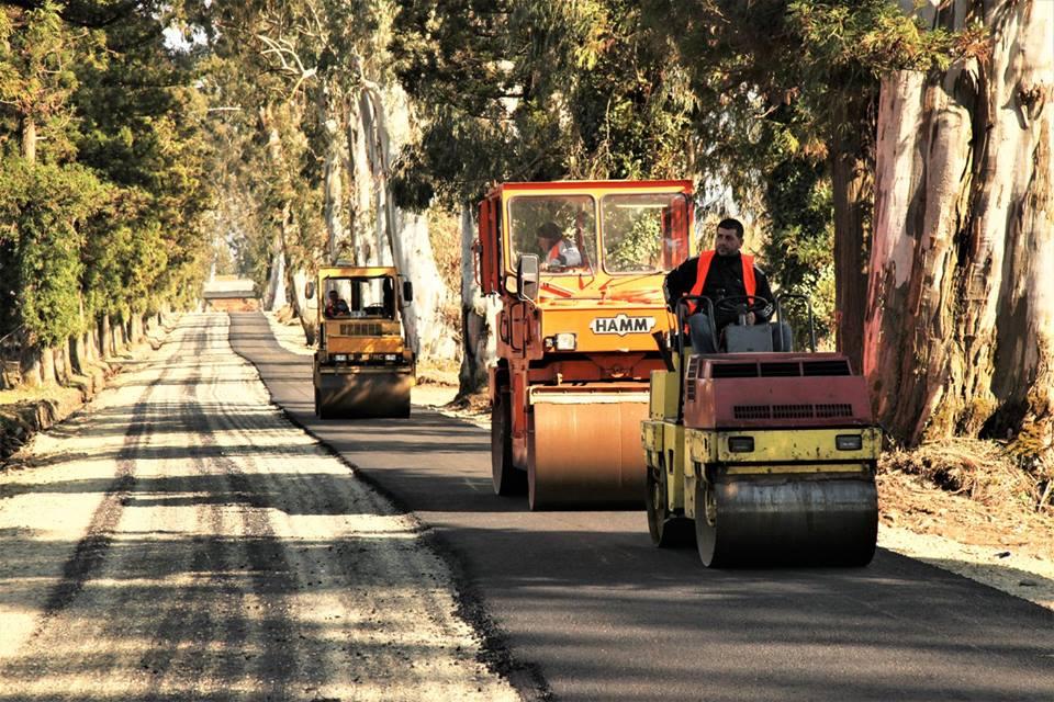სოფელ კვირიკეში გზის სარეაბილიტაციო სამუშაოები მიმდინარეობს
